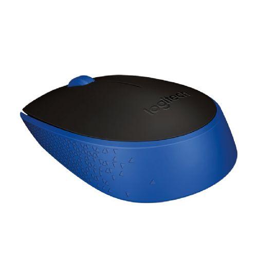 Brezžična optična miška Logitech M171 ( modra)