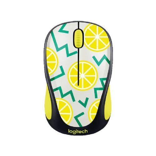 Brezžična optična miška Logitech M238 Lemon