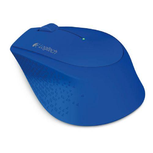 LOGITECH M280 brezžična optična modra miška