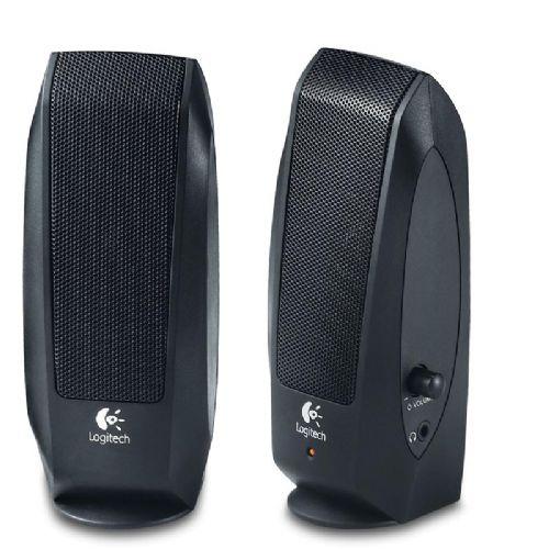 LOGITECH S120 2.0 2,3W črni zvočniki