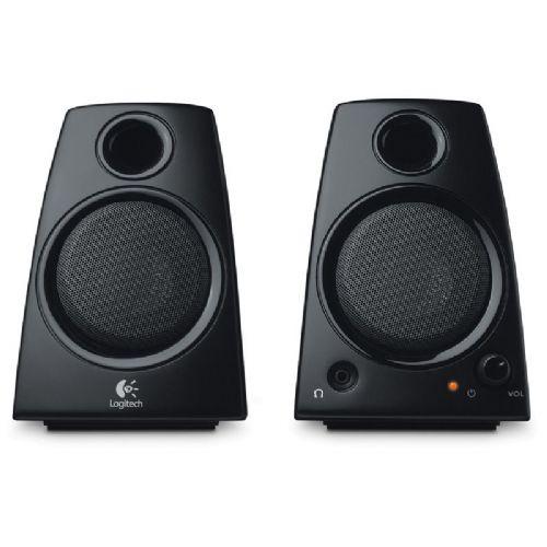 LOGITECH Z130 2.0 5W črni zvočniki