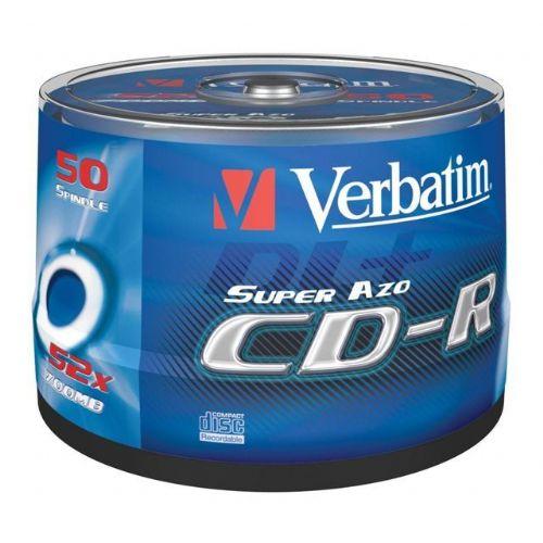 MEDIJ CD-R VERBATIM 50PK printable tortica (43309)