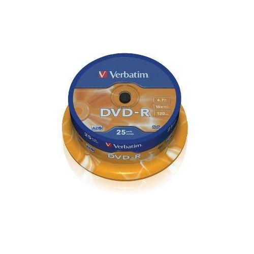 VERBATIM DVD-R 4,7GB 16x 25 medijev