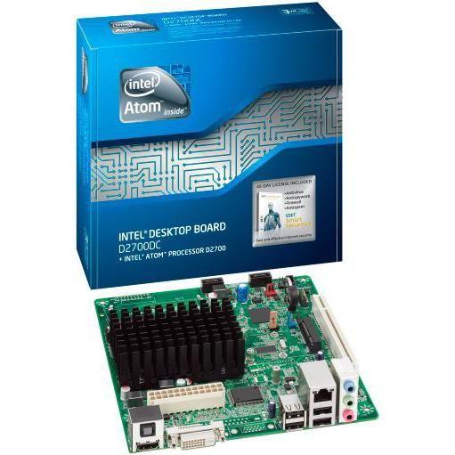 Intel D2700DC osnovna plošča z Atom D2700 procesorjem