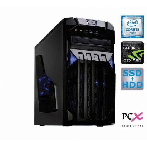 Računalnik PCX EXAM GAMING 2 i5/8GB/SSD 240GB+1TB/GTX950