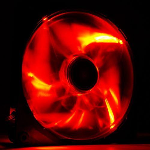 NZXT FZ 140mm (RF-FZ140-R1) rdeč LED ventilator