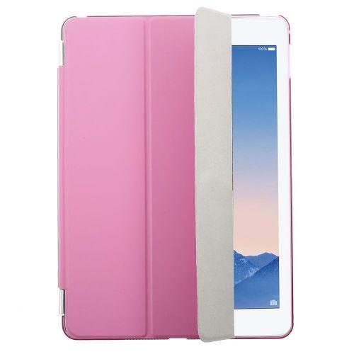"""Pametni komplet """"Smart Fold"""" za iPad Air 2 iz umetnega usnja - roza"""