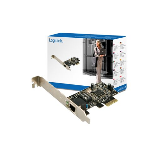 Gigabit  Network Card on Pc0029a Gigabit Pci Express Network Card Logilink   Najni  Ja Cena Na