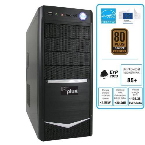 Računalnik PCplus e-m@chine Intel Core i5/4GB/SSD 240GB