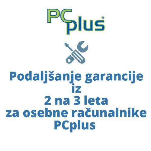 PCPLUS podaljšanje garancije iz 2 na 3 leta za PCplus osebne računalnike