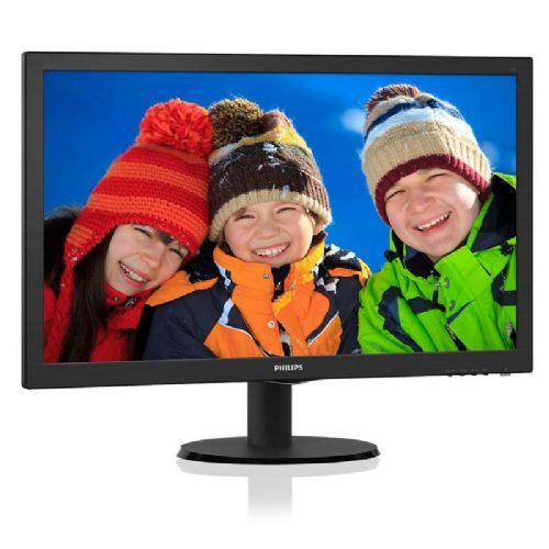 """PHILIPS 243V5QHAB/00 V-line 59,9cm (23,6"""") FHD WLED MVA zvočniki LCD monitor"""