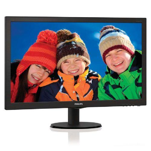 """PHILIPS 273V5QHAB/00 V-line 68,6cm (27"""") FHD AMVA zvočniki LED LCD monitor"""