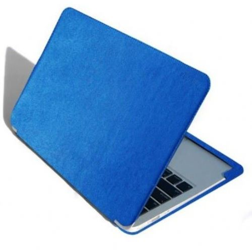 "Premium etui Jivo Gumdrop ""Surf Convertible"" za MacBook Air 11 inch iz umetnega usnja - moder"