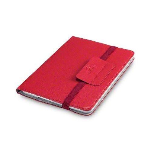 """Premium tanek etui """"Novo"""" za iPad Mini 3 / Mini Retina / Mini iz umetnega usnja - rdeč"""