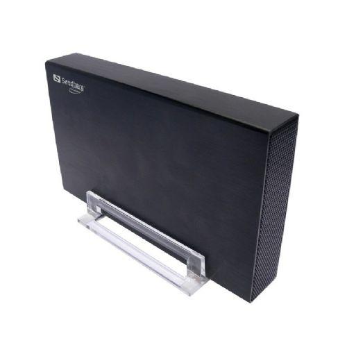 """Zunanje ohišje SANDBERG Hard Disk Box 3.5 USB3.0 za disk 8,89cm ( 3,5"""", črno)"""
