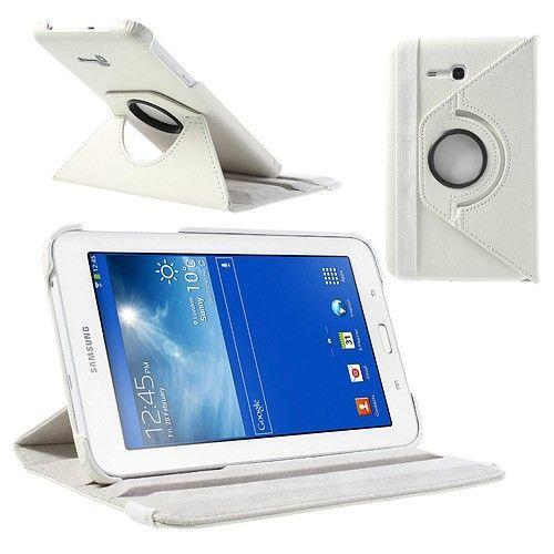 "Tanek eleganten etui ""Rotate"" za Samsung Galaxy Tab 3 7.0 Lite - bel"