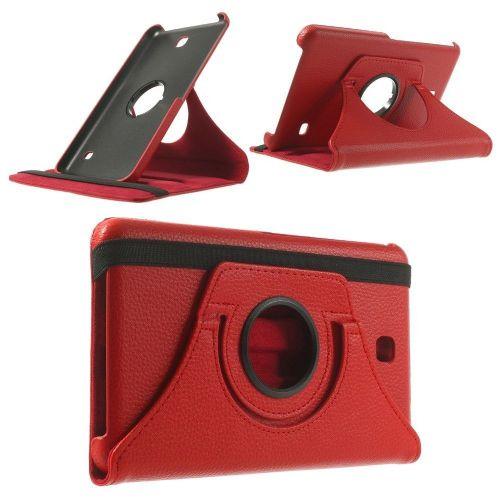 "Tanek eleganten etui ""Rotate"" za Samsung Galaxy Tab 4 7.0 - rdeč"