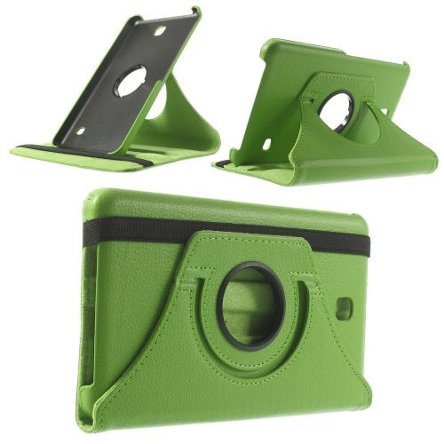 "Tanek eleganten etui ""Rotate"" za Samsung Galaxy Tab 4 7.0 - zelen"
