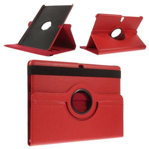 "Tanek eleganten etui ""Rotate"" za Samsung Galaxy Tab S 10.5 - rdeč"