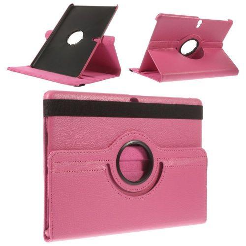 "Tanek eleganten etui ""Rotate"" za Samsung Galaxy Tab S 10.5 - roza"