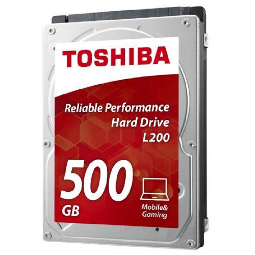 "TOSHIBA L200 500GB 2,5"" SATA3 8MB (HDWJ105UZSVA) trdi disk"