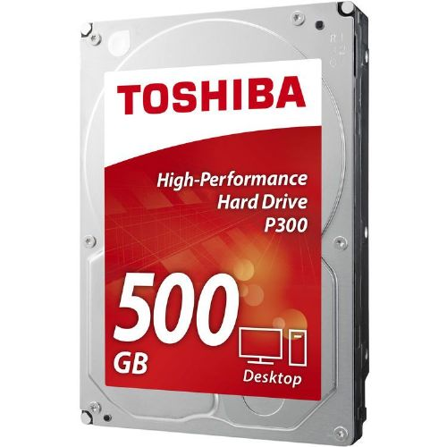 "TOSHIBA P300 500GB 3,5"" SATA3 7200rpm 64MB (HDWD105EZSTA) trdi disk"