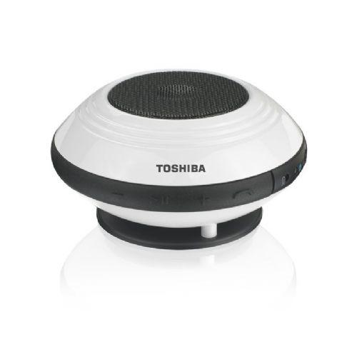 Mini bluetooth zvočnik Toshiba TY-SP1EU(W) 1.0 1.2W bel