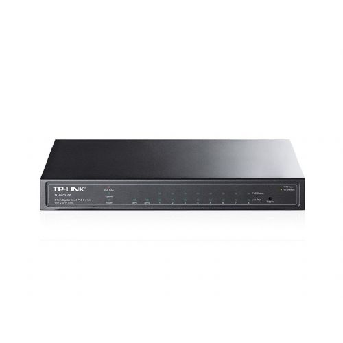 TP-LINK TL-SG2210P 8-port gigabit Smart PoE z 2-port Combo SFP režama mrežno stikalo-switch