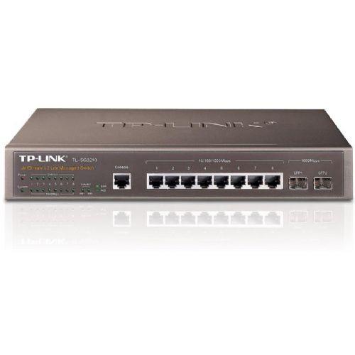 TP-LINK TL-SG3210 8-port gigabit L2 Managed z 2-port SFP mrežno stikalo-switch