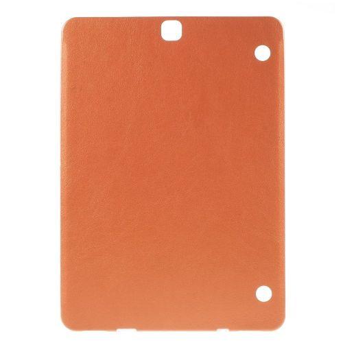 "TPU gel ovitek ""Leather Touch"" za Samsung Galaxy Tab S2 9.7 - oranžen"