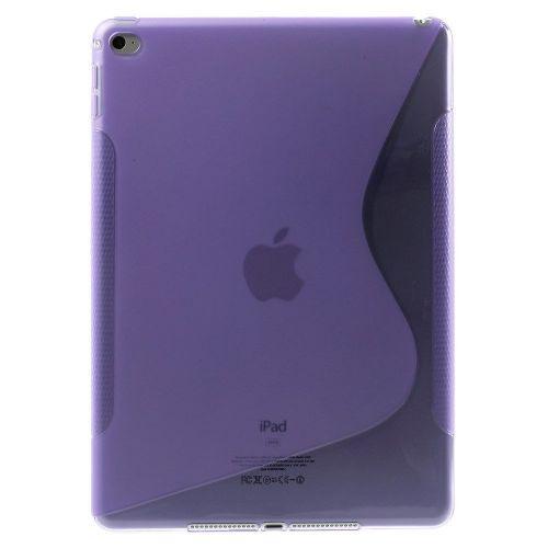 """TPU gel ovitek """"S-Line"""" za iPad Air 2 - vijoličen"""