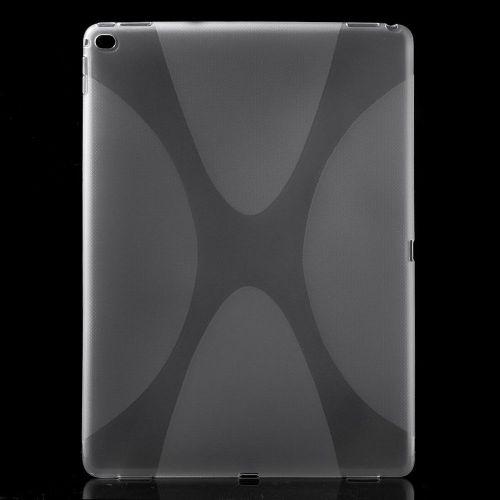 "TPU gel ovitek ""X-Line"" za iPad Pro 12.9 - prozoren"