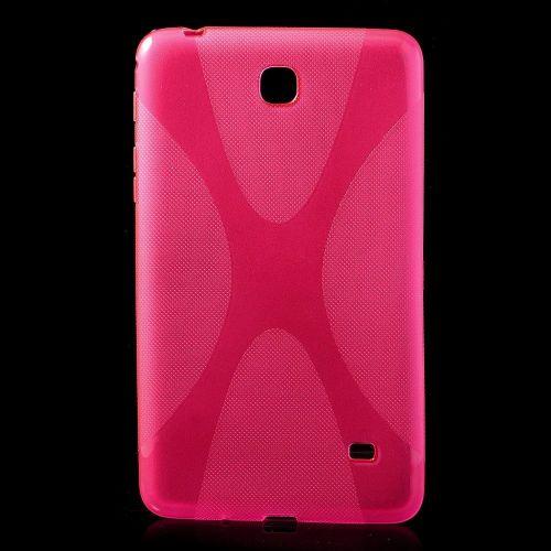 "TPU gel ovitek ""X-Line"" za Samsung Galaxy Tab 4 7.0 - roza"
