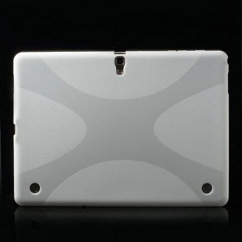 """TPU gel ovitek """"X-line"""" za Samsung Galaxy Tab S 10.5 - bel"""