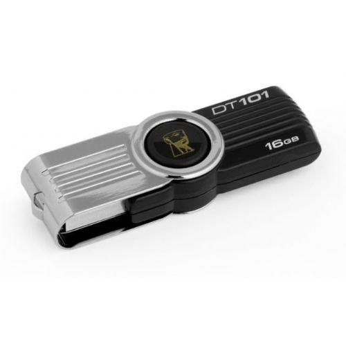 USB disk Kingston 16GB DT101G2, 2.0, srebrn,  b/z: 10 / 5 MB/s (DT101G2/16GB)