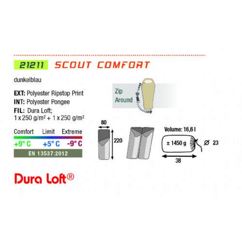 spalna vreča SCOUT COMFORT 2