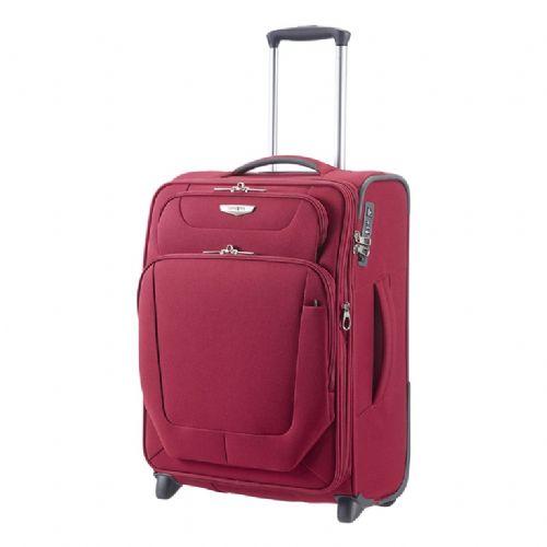 Mehek kovček Samsonite Upright Spark na dveh kolesih 55  raztegljiv rdeč