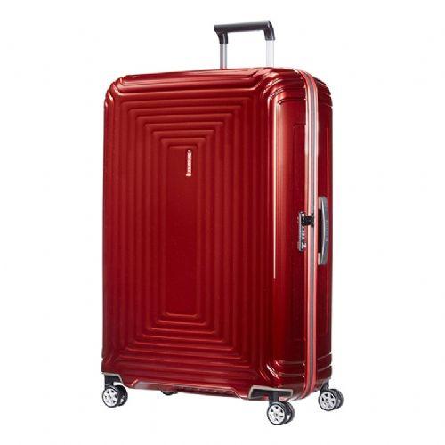 Trd kovček Samsonite Neopulse na štirih kolesih 69 rdeč