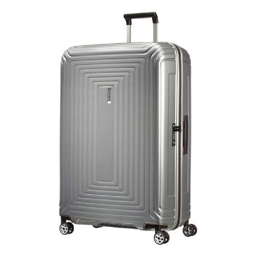Trd kabinski kovček Samsonite Neopulse na štirih kolesih 81 srebrn