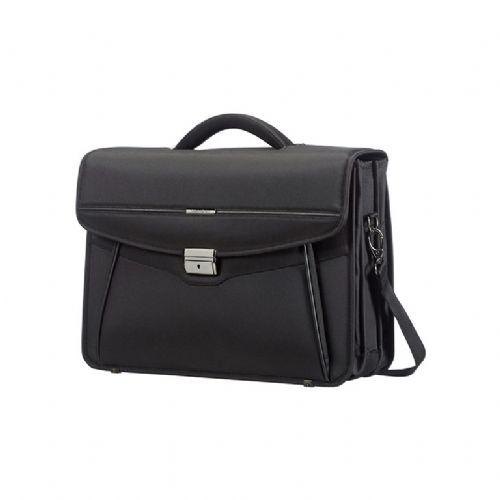 Desklite poslovna torba s tremi predali  15,6´ črna
