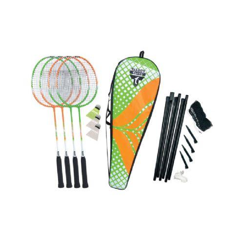 Badminton komplet Talbot Torro 4 Attacker set PLUS