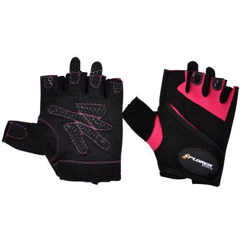 Fitnes rokavice Xplorer Lady Pink L