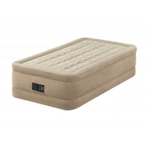 """Napihljiva postelja Ultra Plush Bed """"Twin"""" z vgrajeno črpalko"""