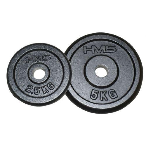 Utežna plošča črna 2,5 KG