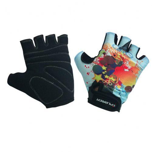 Kolesarske rokavice Xplorer Gel Red vel. XL XP6261