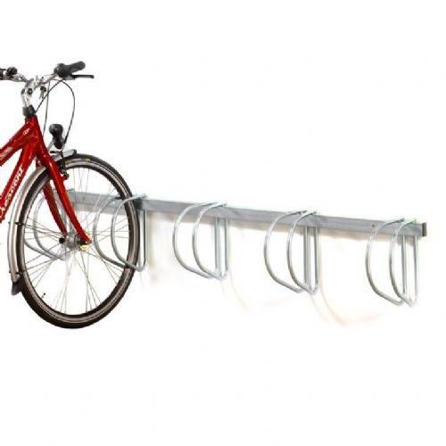 Stojala za kolesa: stensko stojalo za 5 koles