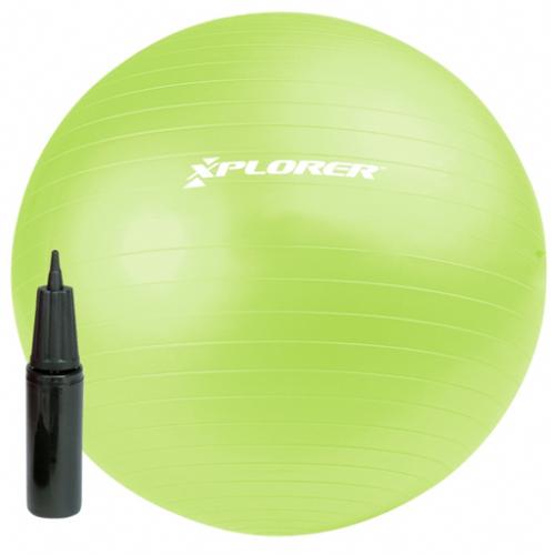 Pilates žoga Xplorer 65cm + tlačilka