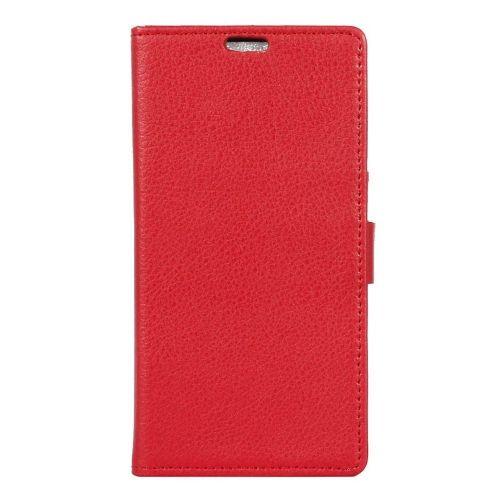 "Eleganten etui ""Litchi"" za Sony Xperia X Compact - rdeč"