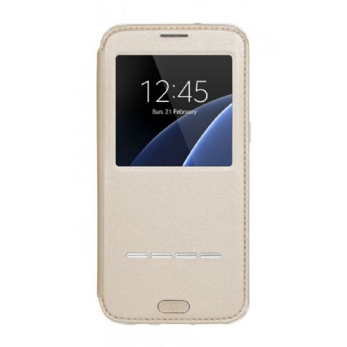G-CASE preklopna torbica Samsung Galaxy S7 Edge G935 - zlata