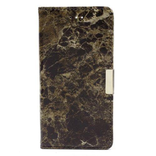 """Modni etui """"Marble"""" za Huawei Honor 8 - črn"""